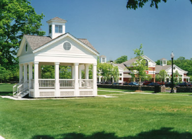 Gazebo at Southbury Green shopping center